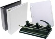 Ring Binders, Hole Punchers, & Index Tabs