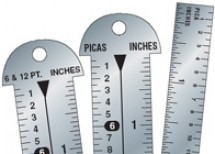 Line Gauges, Typographic Rulers, & Straight Edges