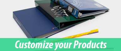Order Your Custom Printed Products + Binding Supplies
