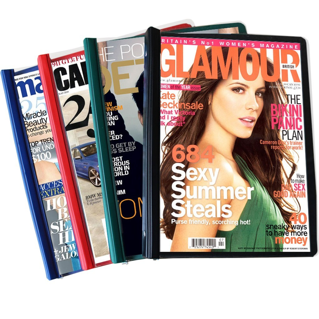 Magazine Binders for Waiting Rooms