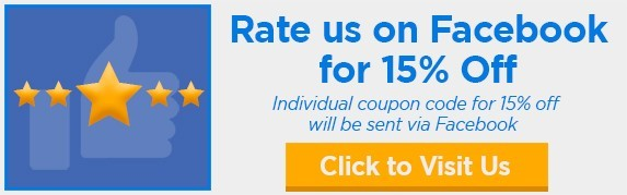 Rate us on Facebook for 15% Off Binding101 Coupon Code