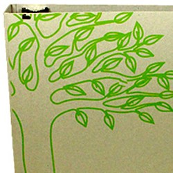 1 Color Printing for Custom Chipboard Binders